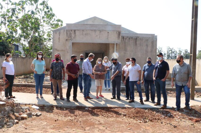 Prefeitura de Ivaiporã investe recursos na Capela do Alto Porã, onde será executado recape em ruas com pedra irregular