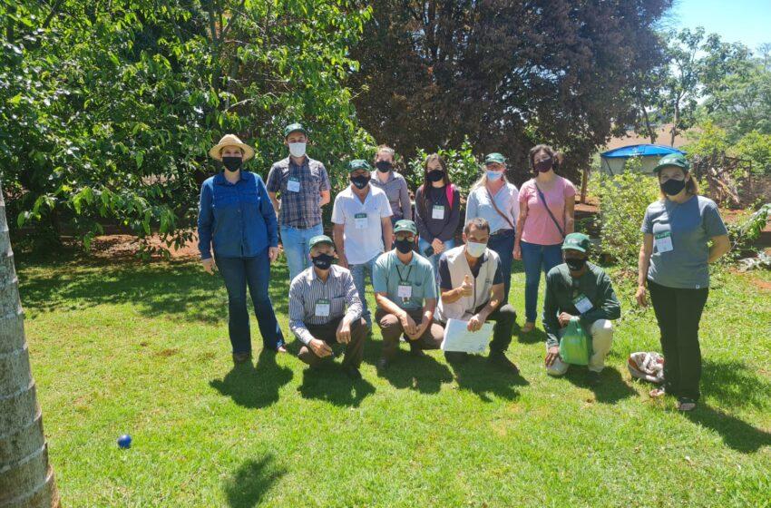 Departamento de Agricultura da Prefeitura de Ivaiporã, Senar e Sindicato Rural ensinam Sistema de Produção Orgânica