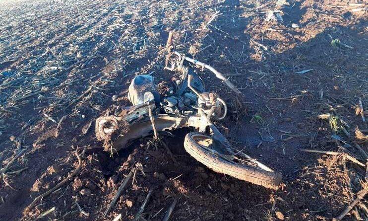 Motociclista morre em acidente em campina da Lagoa e motorista foge