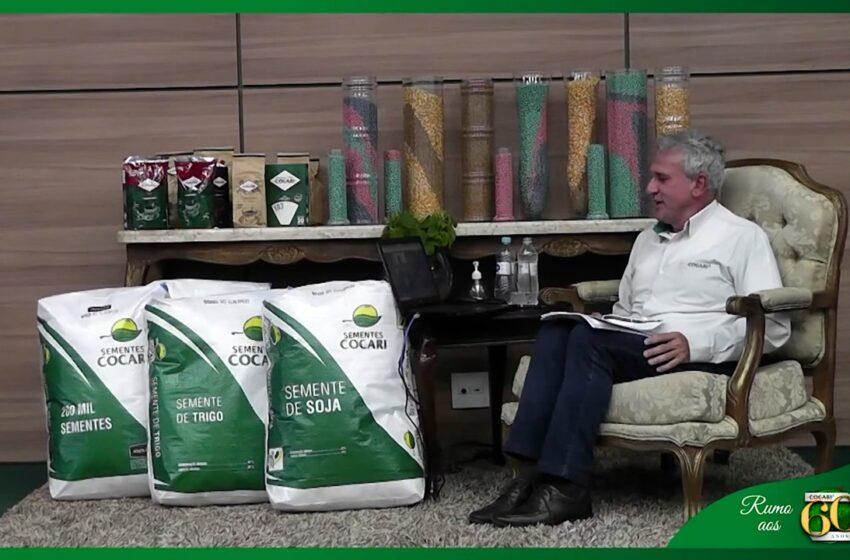 COCARI: Live da cooperativa apresentou tendências do mercado de grãos; confira detalhes sobre o evento