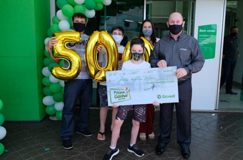 Outubro é o mês da poupança: Sicredi realiza sorteio especial de R$ 500 mil