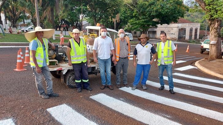 JANDAIA DO SUL – Município investe em melhorias na sinalização de trânsito