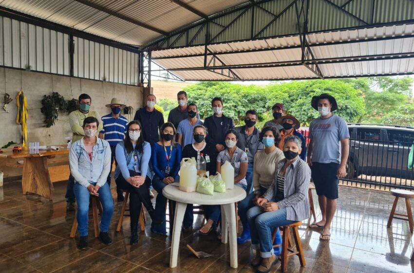Departamento de Agricultura da Prefeitura de Ivaiporã oferece consultoria técnica sobre adubação e produção orgânica