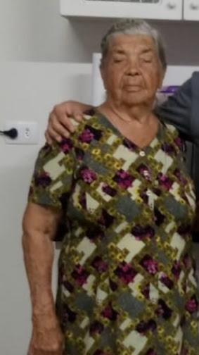 Falecimento da senhora Maria Aparecida Kimél, ex-moradora de Borrazópolis