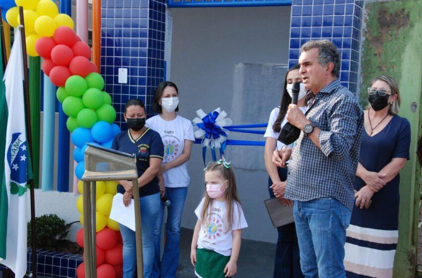 """Prefeitura de Faxinal entrega reforma da escola """"Alair Lourdes Fernandes"""""""