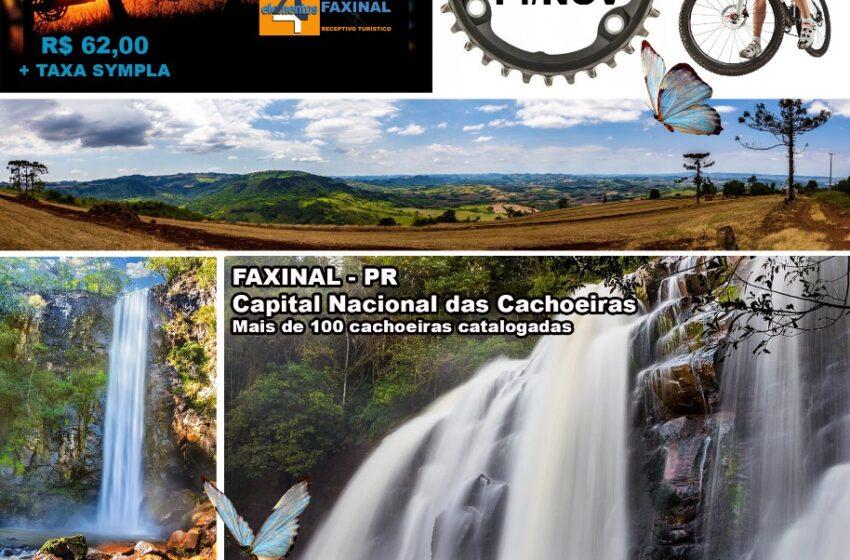 1° PEDAL WATERFALL FAXINAL