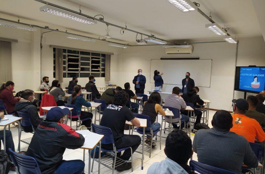 Apucarana inscreve para cursos gratuitos via Senai e Senac