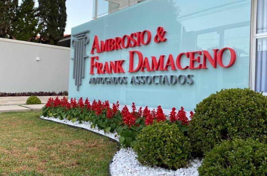 Ambrosio e Frank Damaceno Advogados em breve atendendo em Borrazópolis