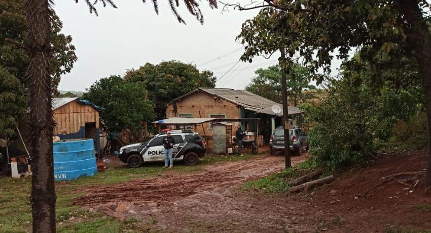 PC de Faxinal realiza a operação PECUS na região