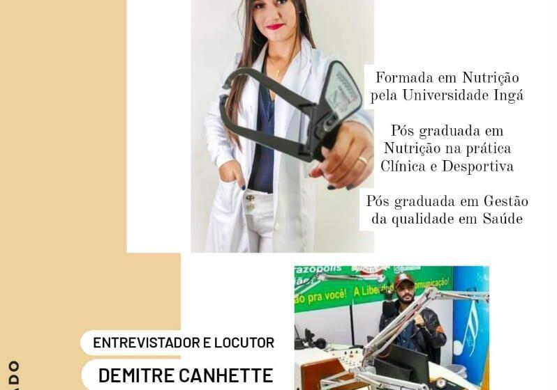 🎙️ ENTREVISTA COM A NUTRICIONISTA LARISSA VALENTIM