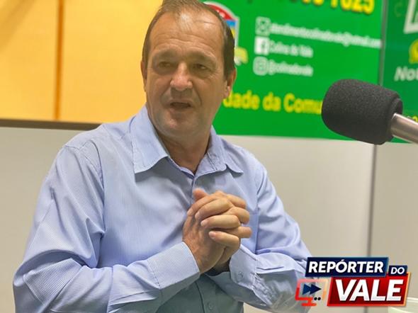 Entrevista com o prefeito José Roberto Furlan de Jardim Alegre