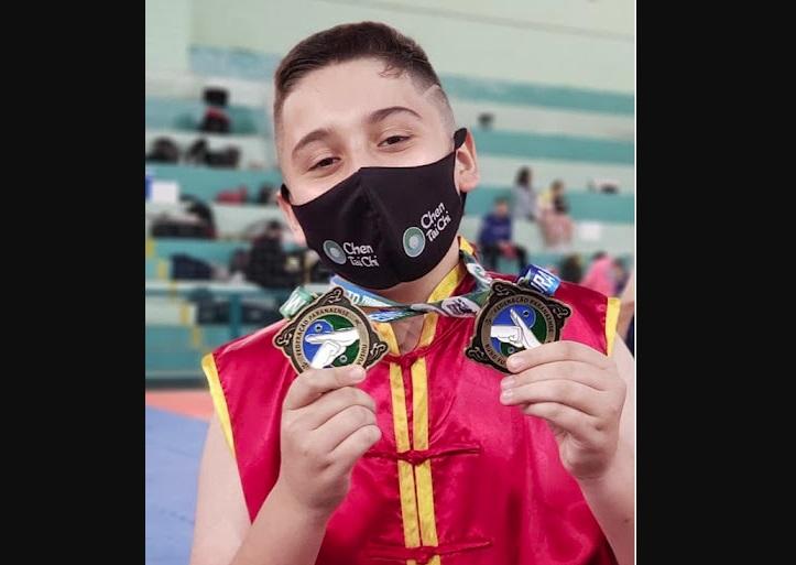 Pais de atleta fazem vakinha virtual para o seu filho participar do Campeonato Brasileiro de KUNG FU