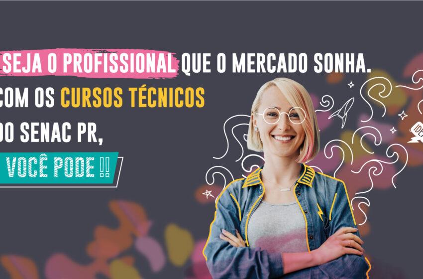 Senac PR oferta cursos técnicos para 2022 com vagas gratuitas; Confira os cursos disponíveis para Ivaiporã
