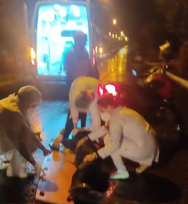 Em Borrazópolis homem é atropelado por moto