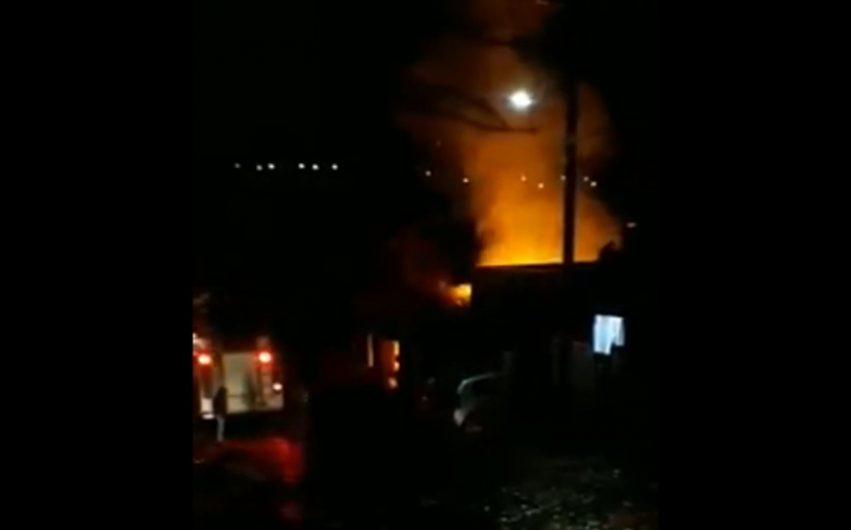 Idosa morre após incêndio a residência em Ivaiporã