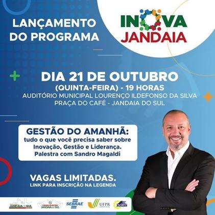 Lançamento do Programa Inova Jandaia