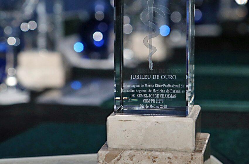 Médicos do Paraná homenageados pelos 50 anos de trabalho exemplar