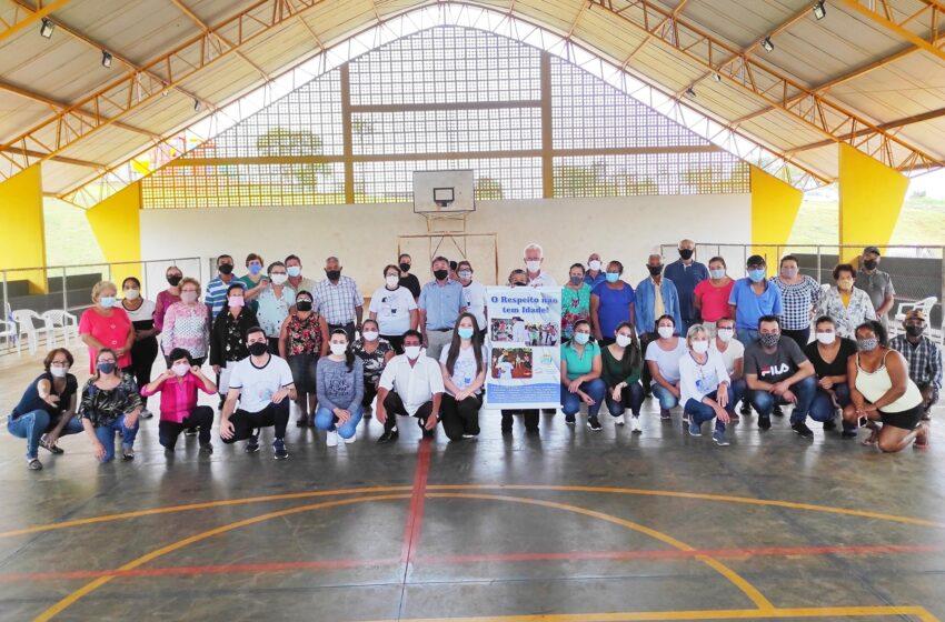 Encerramento das atividades da Semana Nacional da pessoa Idosa em Lunardelli