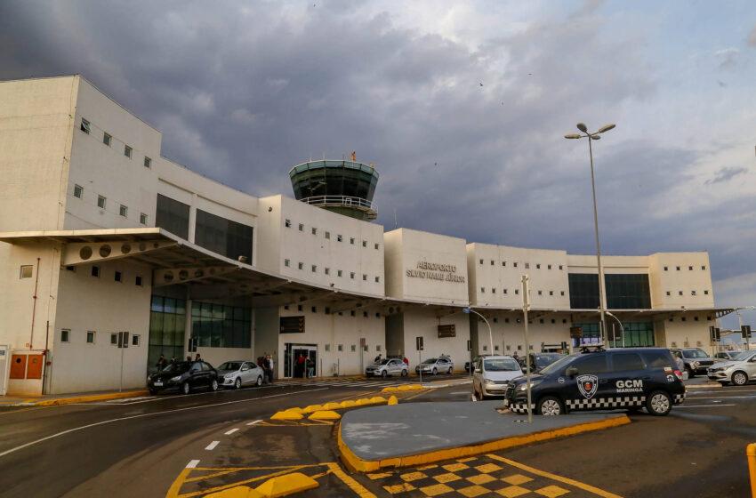Modernização do aeroporto consolida Maringá como referência logística para o País